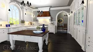 Free Kitchen Design Templates Chief Architect Home Design Software Samples Gallery