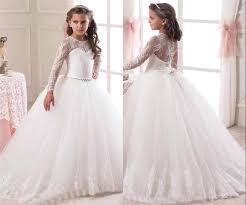 communion dresses on sale 2016 sleeve flower girl dresses for weddings lace