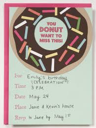 paper source how to donut invitation paper source blog paper
