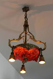 antique french gilt bronze and alabaster ceiling light for sale at