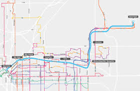 Denver International Airport Map Rtd University Of Colorado A Line Route And Station Impacts