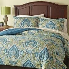 Jennifer Lopez Peacock Bedding Blue Green Paisley Bedding Foter