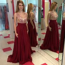 long prom dresses a line prom dresses dark red prom gowns prom