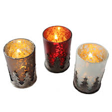 Light Holder Tree Tea Light Candle Holder Mercury Glass U2013 Candlestock