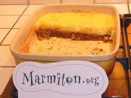 cuisiner le topinambour marmiton hachis parmentier végétarien recette de hachis parmentier