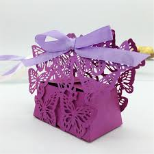 laser cut butterfly wedding box wedding favors gifts boxes