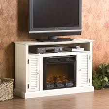 electric fireplace heater tv stand remote control adjustable heat