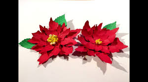 christmas flowers christmas flower poinsettia paper flowers christmas