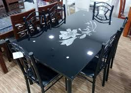 Dining Table Glass Top Online Online Furniture Market Dining Table Ahmedabad