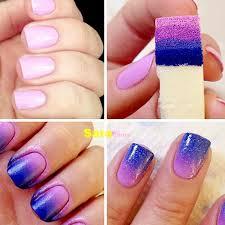 8 pieces lot nail art painting sponge nails equipment simple diy