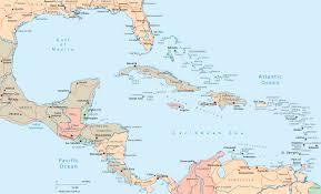Ocean Maps Maps Of Central America Grahamdennis Me