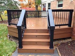 exterior deck designer for modern home exterior decoration with