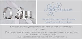 wedding ring styles guide wedding band style guide by the black bow