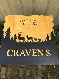 family wood custom wood signs interior or exterior created by christie