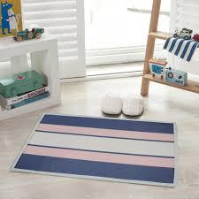 yazi cotton anti slip striped carpet kitchen rug floor door mat
