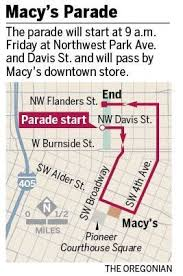 2014 macy s parade in portland route map new floats and