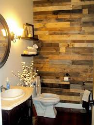 bathroom walls ideas 27 beautiful diy bathroom pallet projects for a rustic feel