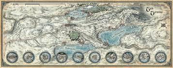 Dnd World Map by Mike Schley U0027s Portfolio