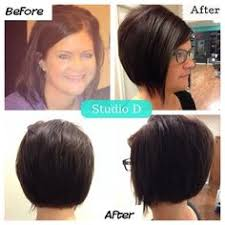 photos of an a line stacked haircut thebeautybenefit01 on youtube how i round brush style my a line