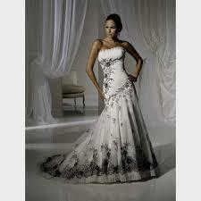 Black And White Wedding Dress Black And White Halter Wedding Dresses Naf Dresses