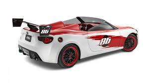 nissan frs custom scion fr s speedster by cartel customs revealed in california