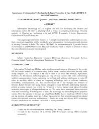 si e lib ation an overview of the library consortia in india pdf available
