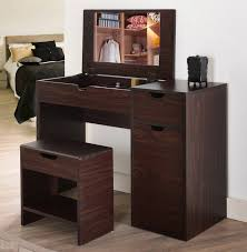 Flip Top Vanity Table Bedroom Furniture Sets Vanity With Mirror Vanity Makeup Mirror