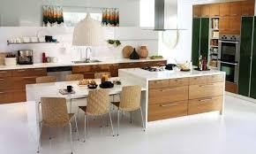 Kitchen Island With Table Attached Mit Leicht Skandinavischem - Kitchen island with table attached