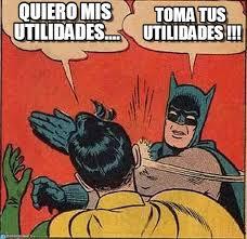 imagenes de utilidades memes quiero mis utilidades batman slapping robin meme on memegen