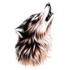 waterprooof wolf designs for arm tattoos stickers 2 in