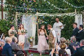 how we planned a 10k backyard wedding in seventeen days a