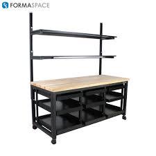 custom workbench u2013 industrial desk u2013 work bench formaspace