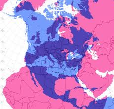 Map Of Us And Europe by Map Overlays Comparing Size Business Insider Goldman Sachs Market