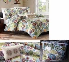 Twin Extra Long Comforter Twin Xl Comforter Sham Boho Paisley Medallion Teen Dorm Mi Zone