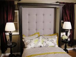 Easy Upholstered Headboard Home Design Diy Upholstered Headboard Squares Wainscoting Kids