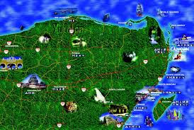 Map Of Yucatan Cancun Road Map And Yucatan Road Map Riviera Maya Airport To Drive