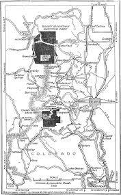 Rocky Mountain National Park Map Nps Centennial Featured Article