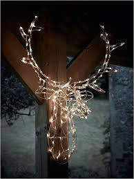lighted reindeer outdoor decorations uk lovely carefully