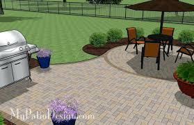 Simple Backyard Patio Designs by Brick Designs For Patios U2013 Smashingplates Us