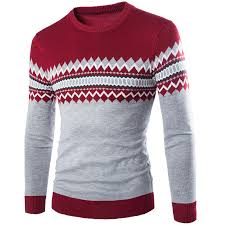 types of mens sweaters 2017 autumn winter neck pullover slim fit knitted
