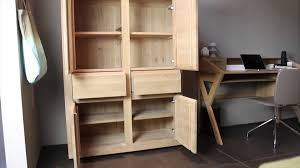 Oak Storage Cabinet 4 Living Presents The Flat Oak Storage Cabinet By Ethnicraft Youtube