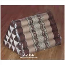 taobao triangle cushion lumbar pillow popular triangle cushion