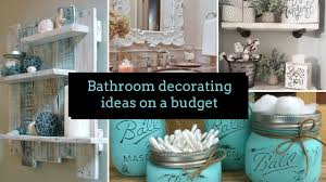 Inexpensive Home Decor Ideas by Diy Bathroom Decorating Ideas On A Budget Home Decor