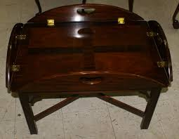 Craftsman Coffee Table Council Craftsman Solid Mahogany Butler Coffee Table