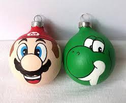 mario yoshi nintendo ornament walyou
