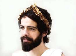 hairband men men s gold leaf headband headpiece gold leaf