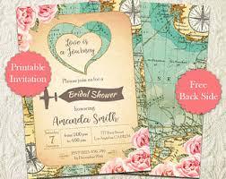 travel themed bridal shower travel shower etsy