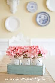Best Spring DIY  Decor Images On Pinterest Easter Decor - Simple kitchen table centerpiece ideas