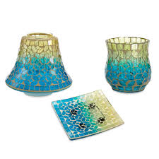yankee candle paradise mosaic candle accessories yankee candle