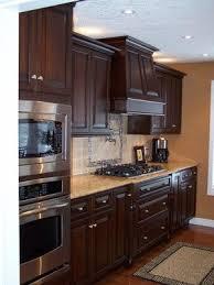 Best  Cherry Wood Kitchens Ideas On Pinterest Cherry Wood - Dark wood kitchen cabinets